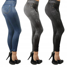 3er Set Slim Jeggings